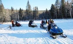 Сафари на снегоходах: преодоление снегов Подмосковья, Карелии и Финляндии