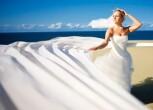 Выбираем красивые пляжные свадебные платья