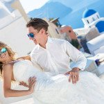 Греческая свадьба в Санторини