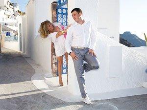 Проведение свадебной церемонии в Греции