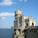 Достопримечательности морского круиза по Черному морю - Ласточкино гнездо