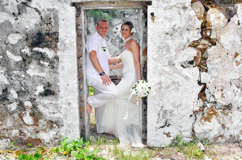 Свадьба на острове русском