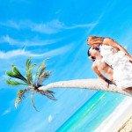 Фото молодоженов на Доминикане