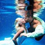 Фото подводной свадьбы на Доминикане