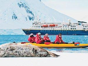 Отзыв Владимира и Татьяны об отдыхе в Антарктиде