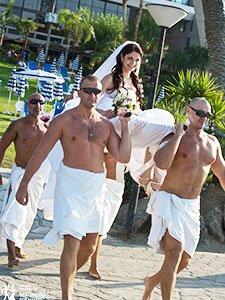 Необычная кипрская свадьба