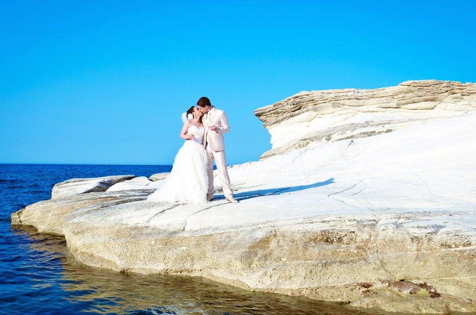 Свадебная церемония на. кипре