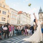 Фото невесты в Праге
