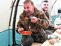 Отличная рыбалка на Камчатке