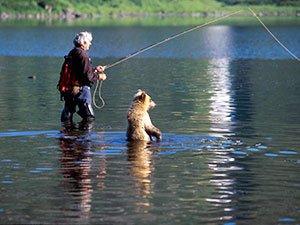 Речная рыбалка на Камчатке