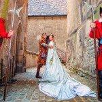 Фото символической свадьбы в Праге