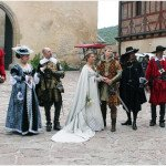 Костюмированная свадьба в замке