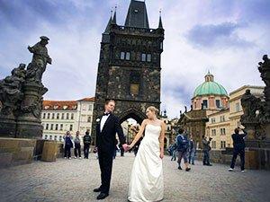 Прага - великолепное место для проведения свадьбы