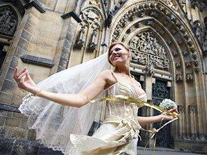 Свадьба в замке Праги