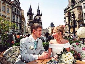 Валентина и Алексей - отзывы о свадьбе в Праге