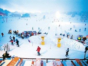Горные лыжи в Паландакене