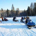 Туры сафари на снегоходах