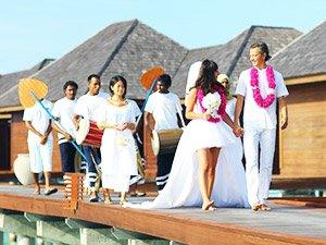 Официальная свадебная церемония за границей