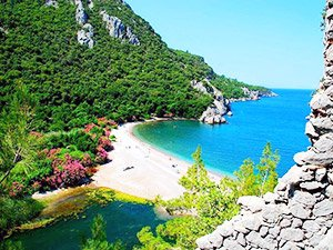 Самые красивые пляжи Турции