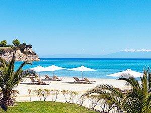 Самые лучшие песчаные пляжи Греции