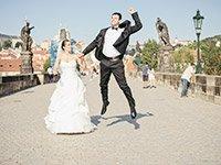 Прекрасная свадьба в Праге