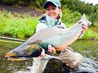 Летняя рыбалка на Камчатке