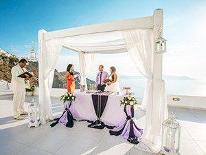 Свадьба в Греции для двоих