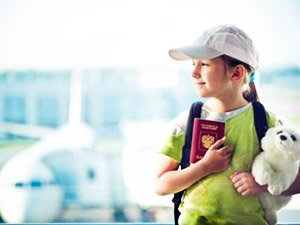 Оформление загранпаспорта для ребёнка