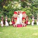 Экзотическая свадьба на Шри-Ланке