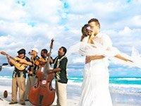 Зажигательная свадьба на Кубе