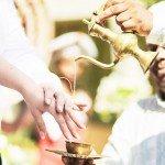 Свадебный обычай Шри-Ланки