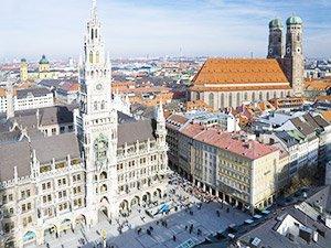 Что посмотреть в Мюнхене - Мариенплтц