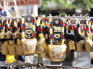 Сувениры из Вены - колокольчики