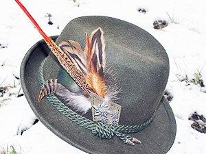 Подарок из Вены - тирольская шляпа