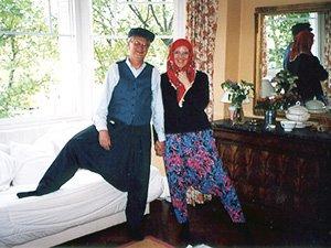 Сувениры из Стамбула - традиционная одежда