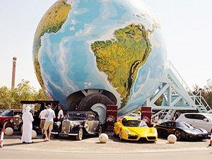 Что посмотреть в детьми в Абу-Даби - автомузей ОАЭ