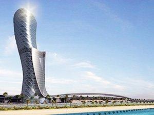 """Что стоит посмотреть в Абу-Даби - """"Падающая башня"""""""