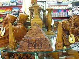 Сувениры из Египта: пирамида