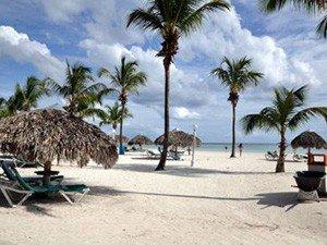 Пляж с белым песком Бока Чика