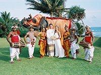 Свадебное торжество на Шри-Ланке