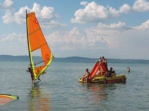 Где отдохнуть на озере Балатон с детьми