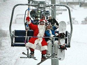 Новый год на горнолыжных курортах Беларуси