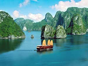 Бухта Ха Лонг - курортное место Вьетнама