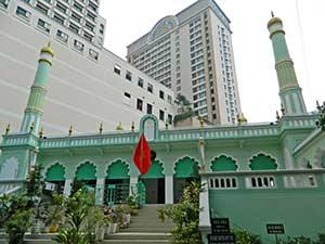 Центральная мечеть бышего Сайгона