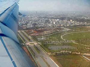 Отбытие из аэропорта Хошимина