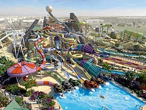 Аквапарк в Дубаи