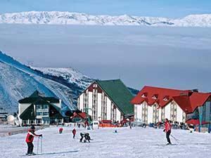 Перспективный горнолыжный курорт Турции Паландокен