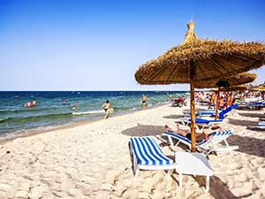 Аэропорты Туниса рядом с курортными зонами