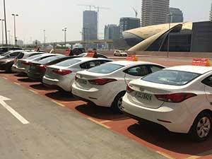 Правила паркинга в Дубае