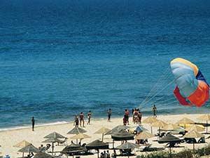 Пляжи Хаммамета